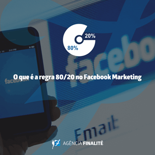 O que é a regra 80/20 no Facebook Marketing