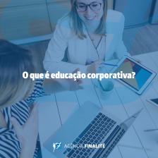 O que é educação corporativa?