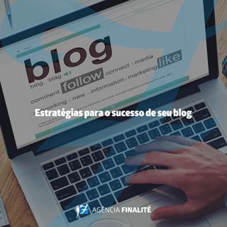 Estratégias para o sucesso de seu blog