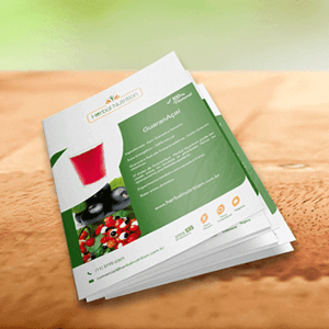 Criação: Flyer Herbal Nutrition
