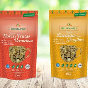 Design - Rótulos Herbal Nutrition