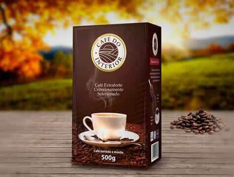 Design Rotulos Embalagem Café